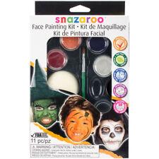 Snazaroo Halloween Fancy Dress Face Painting Palette Make Up Face Paint Set New