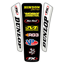 Factory Effex MX Universal FX Motorbike Rear Fender Graphics Decals