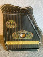 Rauner Zither antik Zupfinstrument in OVP mit Stimmwerkzeug