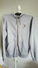 Converse Mens Grey Hoody Sweater Jumper Size M