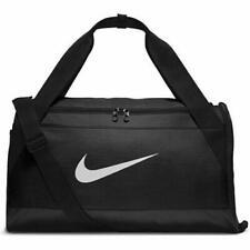 Nike Brasilia Duffel/Holdall School/Gym/Sports/Football/Training Black Bag  NEW