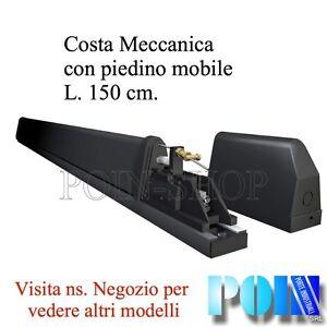 COSTA MECCANICA DI SICUREZZA PER AUTOMAZIONE CANCELLI  BASCULANTI PORTE  150 cm