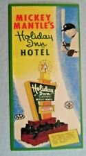 Mickey Mantle's Holiday Inn Hotel Advertising Card  Reprint