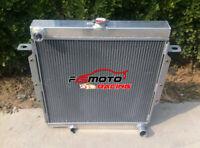 5 core Aluminum radiator for Toyota Land cuiser HZJ75 HZJ79 1HZ 4.2 Diesel 90-01