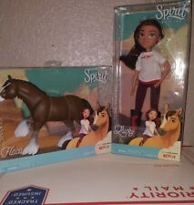 Dreamworks Spirit Riding Free LUCKY & FLACA  Horse & Doll DELUXE SET