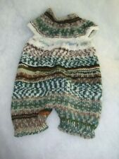 Baby rompers boy camouflage 6 months hand knitted easy wash