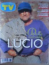 TV Sorrisi e Canzoni n°50 1996 Lucio Dalla Eugenio Finardi Laura Freddi  [D37]