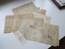 SBZ / DDR Postscheckamt 27 Stück Leipzig Sch A. 1947 / 48. Kontoauszug / Abschn.