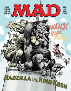 MAD MAGAZINE #20 6/8/21 FREE SHIPPING AVAILABLE