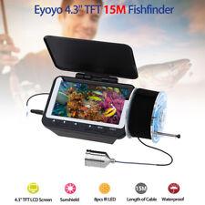 Eyoyo 4.3'' 15M Infrared Sea/Boat Underwater Fishing Camera Fish Finder Depth