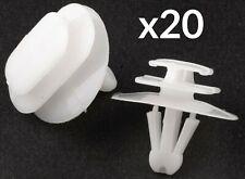 10x Renault Seal /& Weather Bande de moulage plastique Oeillet Clips