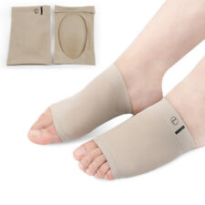 Soft Gel Plantar Fasciitis Arch Support Sleeve Sock Heel Cushion Foot Pads Patch
