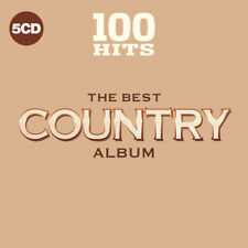 Various Artists - 100 Hits: The Best Country Album [New CD] Boxed Set, UK - Impo
