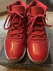 Nike Air Jordan 11 Retro Win Like 96 Gym Red White Size 11.5