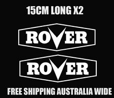 rover lawnmower decal stickers car ute trailer toolbox