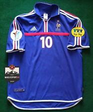 Maglia Zidane Euro 2000 - Calcio Retro Francia  Jersey France Zinedine