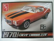 Sealed AMT Round 2 1970 1/2 Chevy Camaro 1:25 Scale Model Car Kit #635