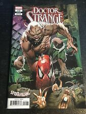 "Doctor Strange#12 Incredible Condition 9.4(2019)""Spider-villians Variant"""