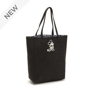 Disney Tote Bag Mickey Mouse Black Grey Scale ,  shopper NEW