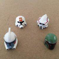 Lego Star Wars Clone Trooper Minifigure Helmets Lot
