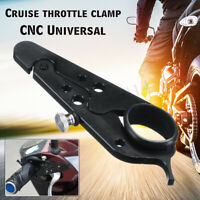 CNC Motorcycle Cruise Control Throttle Clamp Lock Assist Retainer Grip HOT