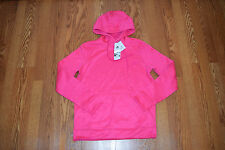 NWT Womens ADIDAS Pink Heather Climawarm Pullover Hoodie Jacket Size M Medium
