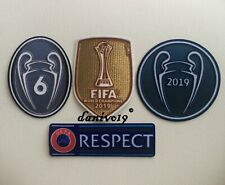 Champions League 2020 Patch FIFA World Champions 2019 Firmino Liverpool Trikot