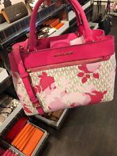 Bolso de Michael Kors / Bag Hailee MD cartera granita fucsia floral