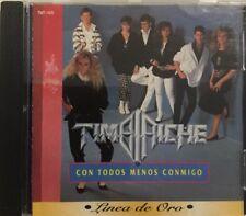 TIMBIRICHE - Con Todos Menos Conmigo SERIE DE ORO rare CD THALIA + PAULINA RUBIO