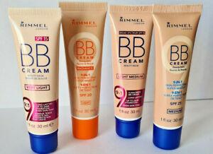 Rimmel BB Cream 9-in-1 Skin Perfecting Super Makeup SPF 20/25  30ml Chose Shade