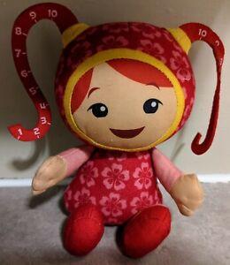 "Team Umizoomi 9"" Milli Plush Doll Stuffy Mattel 2011"