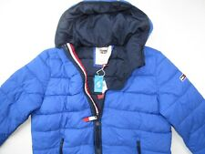 Men Tommy Jeans Classics Puffer Hooded Insulated Jacket...