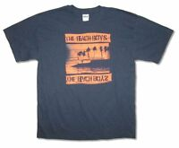 The Beach Boys Night Beach Primm Navy Blue T Shirt New Official Adult