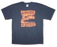Beach Boys Night Beach Tour NV-NV Navy Blue T Shirt New Official Band Merch