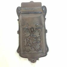 Cast Iron Vintage Style Mailbox Wall Mount