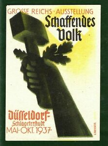 Germany EXHIBITION STAMP/LABEL Schaffendes Volk 1937 Mint MNG GWHITE19