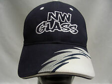 NW GLASS - SHARK TOOTH - EMBROIDERED - ONE SIZE ADJUSTABLE BALL CAP HAT!