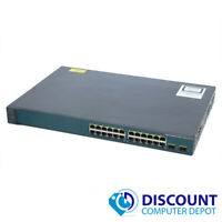 Cisco WS-C3560v2-24PS-S Catalyst 24-Port 10/100 2x Port Gigabit Ethernet Switch