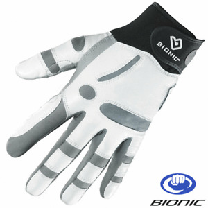 BIONIC ReliefGrip™ MENS ORTHOPEDIC WRIST SUPPORT LEATHER GOLF GLOVE / ALL SIZES