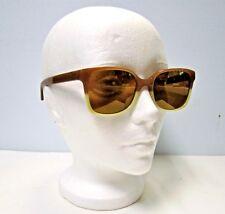 Tory Burch TY7103 Khaki Prailine Sunglasses w/ Gold Flash Lens 12386H 54-19-140
