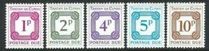 Tristan da Cunha 1976, Postage Dues sgD11/5 MNH