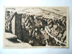HANSI carte postale ancienne KAYSERSBERG 1921