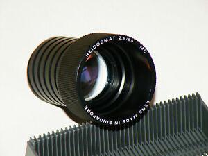 Rollei Heidosmat 2,8/85mm MC Projektionsobjektiv made in Singapore TOP Objektiv