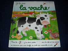 Je lis avec les animaux de la vache by Yvette Barbetti French New