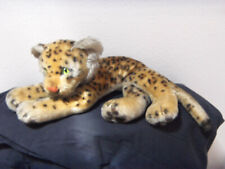 vintage early 70's Steiff large tiger with silver button