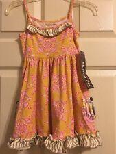 Mustard Pie Finn Knit Sunny Dress $58 NWT Size 24M