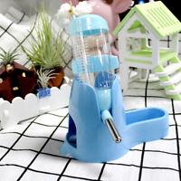 Hanging Hamster Plastic Guinea Pig Rabbit Water Bottle Dispenser Feeder New
