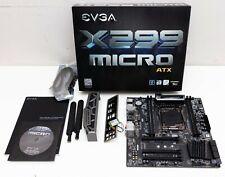 EVGA X299 Micro LGA 2066 Intel X299 SATA 6Gb/s USB 3.1 Micro ATX Motherboard