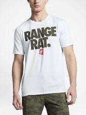 $40 NIKE GOLF RANGE RAT DRI-FIT SHIRT 843863-100 WHITE/MAX ORANGE 2XL