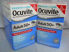 Bausch - Lomb Ocuvite Adult 50+ Eye Vitamin - Mineral, 90 SOFTGELS EACH (2PK)